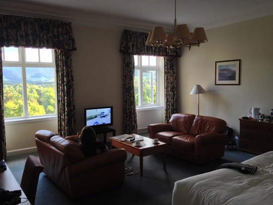 Peebles Hydro: Room with a View
