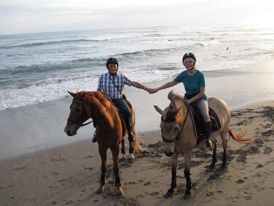 Bali Equestrian Centre: Beach tour