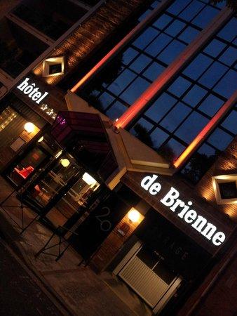 Hotel de Brienne : facade