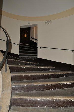 Hotel Santa Prassede : Старое здание напротив ресепшн