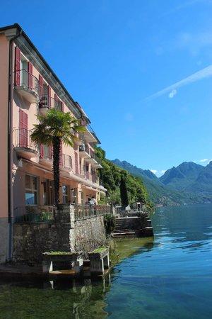 Hotel Moosmann: die idyllische Seeterrasse