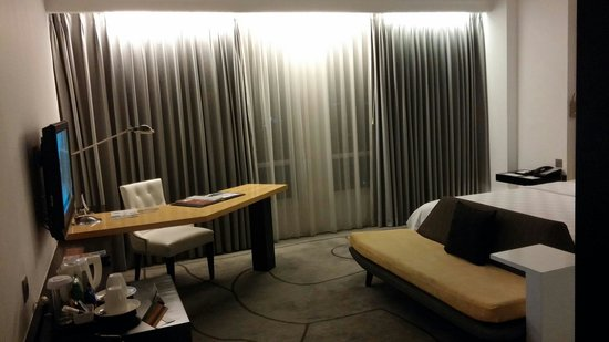 TS Suites Surabaya: view after you enter the room