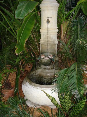 Old Town Manor: little fountain