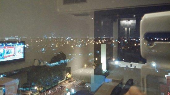 TS Suites Surabaya: city view
