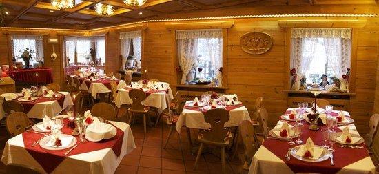Albergo Genziana: Restaurant