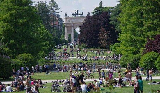 Parco Sempione : излюбленное место отдыха