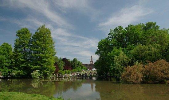Parco Sempione : чудесный вид