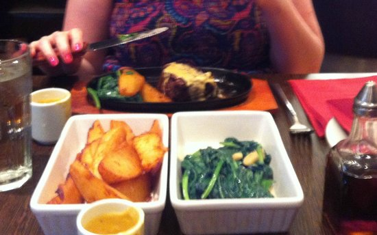 Monroes Bar & Restaurant: Fillet Steak