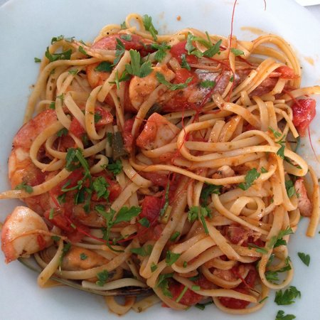 Salt & Pepper : Seafood Pasta