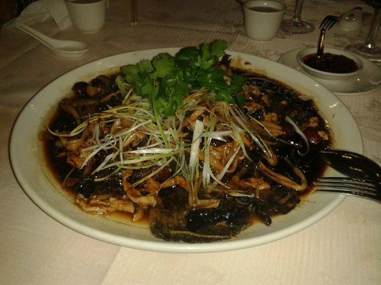 Oversea Chinese Restaurant: Traditional Steamed Turbot