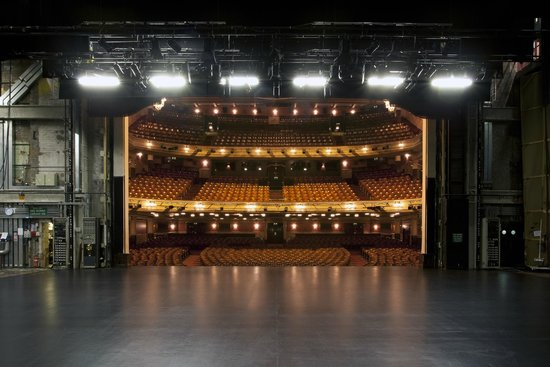 Festival Theatre as seen from the stage
