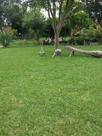 Jacana Gardens Guest Lodge: Garden View from Room