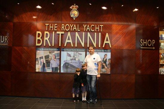 Britannia (navire) : HMY Briatannia