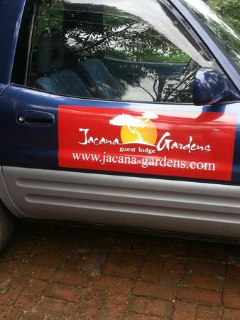 Jacana Gardens Guest Lodge: Hotel Vehicle