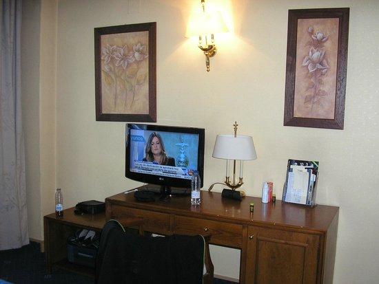 Hotel Corregidor: buena tele