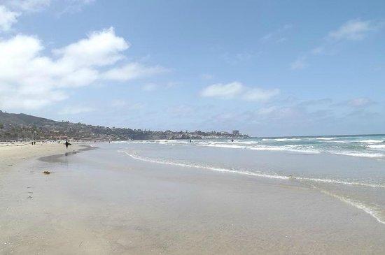La Jolla Shores Park: Spiaggia immensa