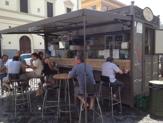 'L Trippaio di San Frediano: Great street food