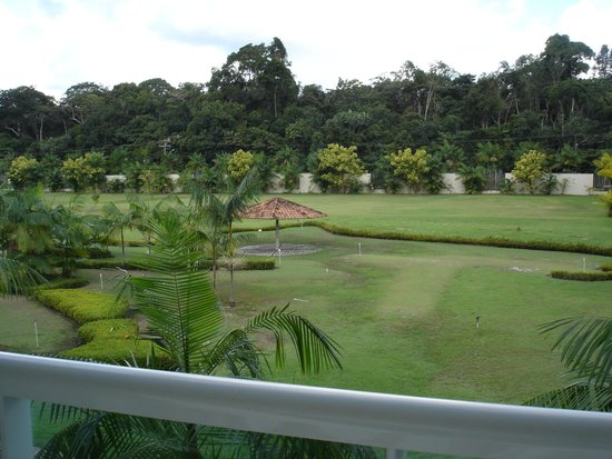 Amazonia Golf Resort : vista do quarto