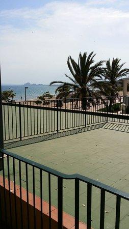 Prestige Coral Platja : Foto desde balcon lateral
