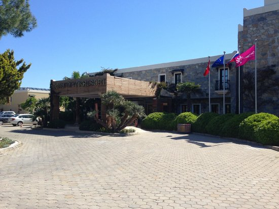 Bodrum Park Resort: Mian Entrance