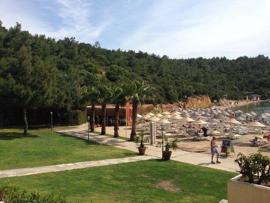 Bodrum Park Resort: Beach View