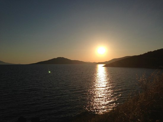 Bodrum Park Resort: Sunset View