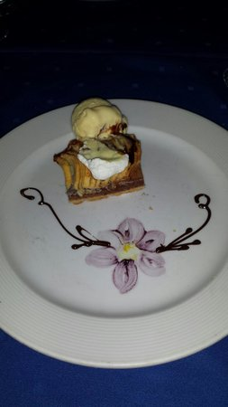 Secrets Capri Riviera Cancún: Awesome dessert at the Seaside Grill