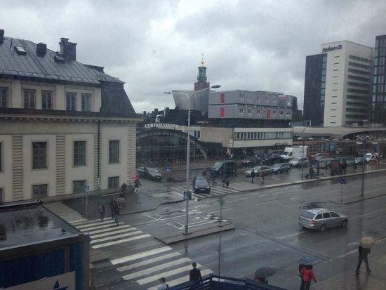 Radisson Blu Royal Viking Hotel, Stockholm : View from the room