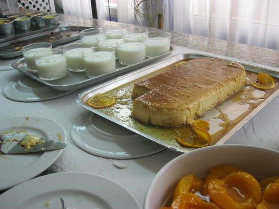 Hotel Felipe II : buffet de postres