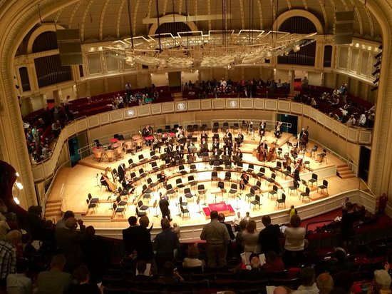 Symphony Center - Chicago Symphony Orchestra: Intervalo do concerto.