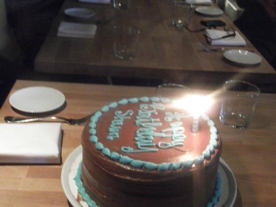 W New York - Union Square: Adhoc birthday celebrations