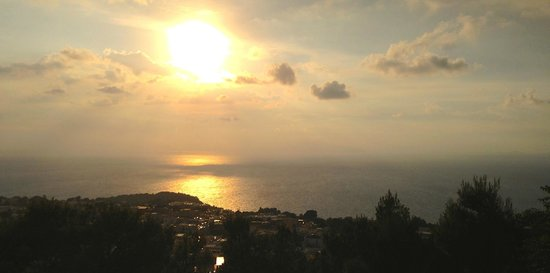 Monte Solaro: Aussicht Terrasse