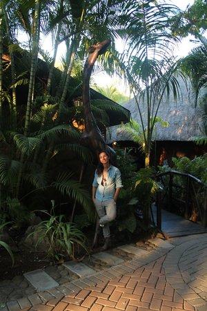 Kaia Tani Guesthouse: ma e' di legno????