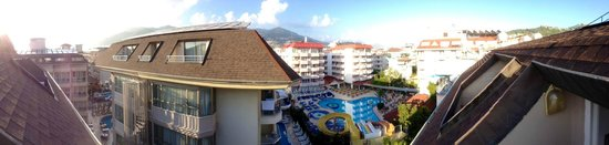 Sultan Sipahi Resort: View from the 5th floor balcony.