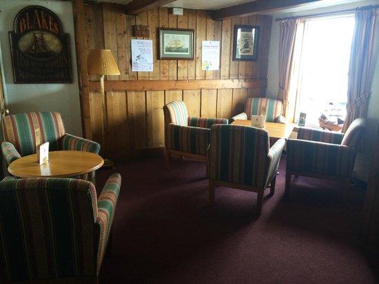 The Ship Inn Restaurant: Cosy interior