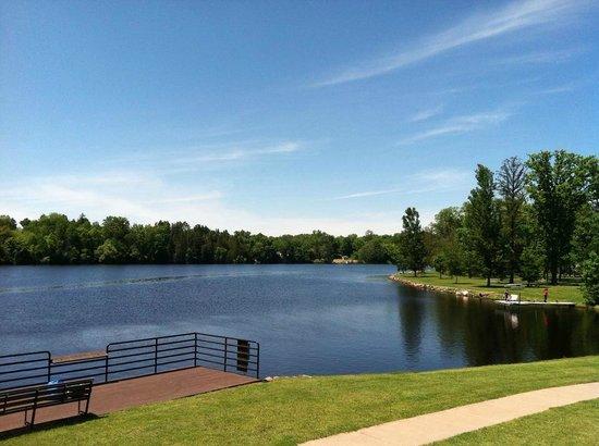 Flambeau River at Memorial Park