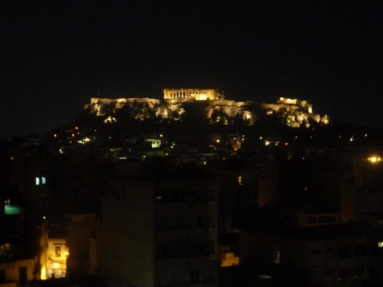 Arion Athens Hotel: Night View
