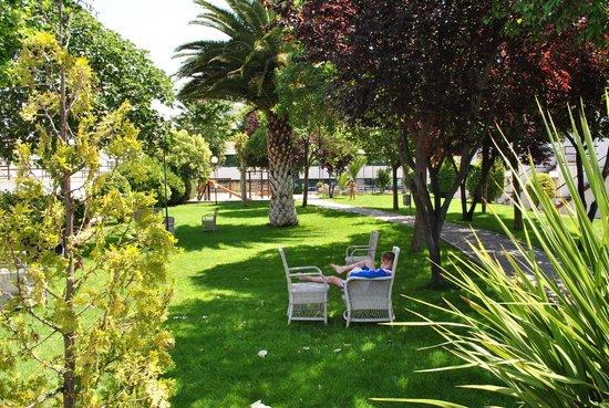 Osuna Hotel: Giardino