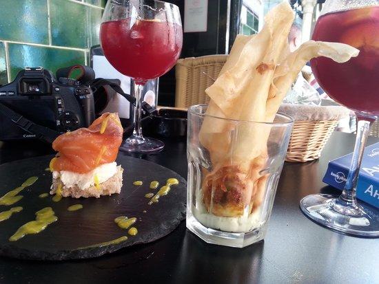 Bar Europa: божественные креветки