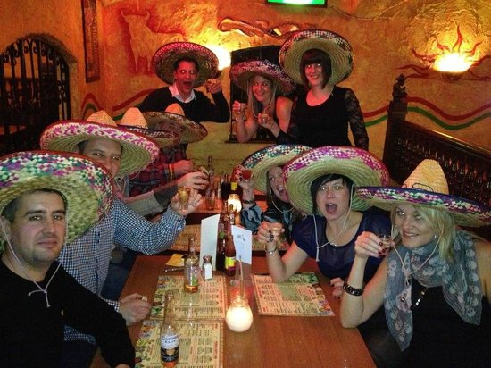 Pedro's Mexican Cantina: party