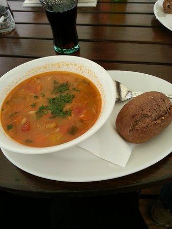 Lobkowicz Palace Cafe: Czech vegetable soup
