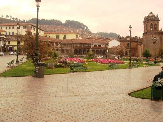 Centro Historico De Cusco: a praça