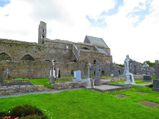 Galway Tour Company: Corcomroe Abbey - One of Several Stops