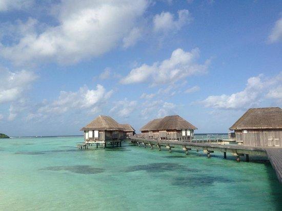 Club Med Kani : Bungallows sur pilotis