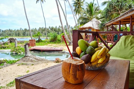 Simeulue Surflodges: View from one of the cabanas