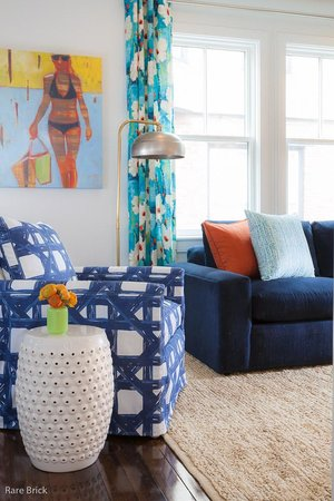 The Attwater : Urban Beach House suite sitting area