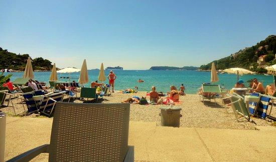 Lapad: Beach