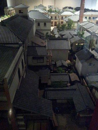 Edo-Tokyo Museum: Maqueta