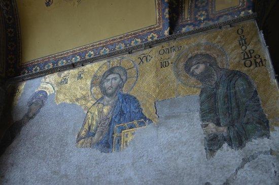 Musée et basilique Sainte-Sophie : Христианские мозайки
