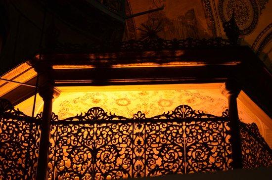 Musée et basilique Sainte-Sophie : первый этаж